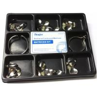 Wholesale Russian Original Stainless Tofflemire Matrix Band Dental Use 100 Pcs / Kit Pack from china suppliers
