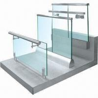 Wholesale Stainless Steel Cover Handrail with 12 to 18mm Glass Thickness, Measures 120 x 143mm from china suppliers