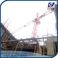 Wholesale QTZ25(3508) Small Inner Climbing Tower Crane Building 80m in India from china suppliers