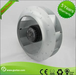 Quality 310mm EC Motor Backward Curved Centrifugal Fan , Brushless DC Fan Blower for sale