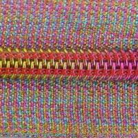 Wholesale Nylon zipper with colorful tape and teeth from china suppliers
