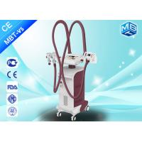 Wholesale Vertical Facial And Body Slimming Machine , Cavitation Vaccum RF Beauty Machine With CE from china suppliers
