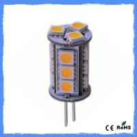 Wholesale CE ROHS Crystal Lamp 12V G4 LED Lights 5050 SMD Warm White Dimmable G5.3 from china suppliers