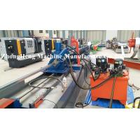 Wholesale Gear transmit metal roll forming machine for 0.4mm thickness Angle profile with rib from china suppliers