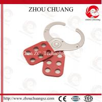 Wholesale Safety Hardened Steel Shackle Vinyl Coated Lockout Hasp from china suppliers