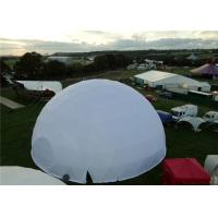Wholesale Waterproof Steel Geodesic Dome Shelter 30M Diameter Garden Gather from china suppliers