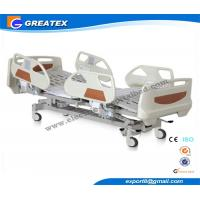 Wholesale ABS , Metal Embedded Operator Electric Hospital Bed With Wheels and 5 Function from china suppliers