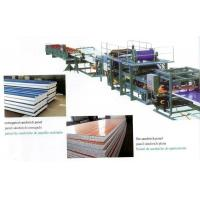 Wholesale Insulated EPS Sandwich Panel Production Line with Decoiler / Laminating Device from china suppliers