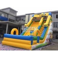 Wholesale Commercial Inflatable Bounce Slide Outdoor Small Minions Inflatable Slide For Kids from china suppliers