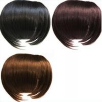 Wholesale Black and Brown Tangle Free 100%  Remy Virgin Hair Fringe Wig from china suppliers