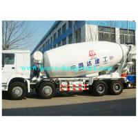 Wholesale Sinotruk Howo Concrete Mixer Truck 12CBM tank 8x4 with Euro II Emission from china suppliers