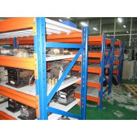 3 Levels Heavy Duty Racking System With Steel Plate Decking 3000H * 1000D * 2300L