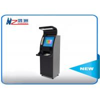 Wholesale Cash payment self pay kiosk payment machine / outdoor self service terminal from china suppliers