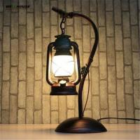 Wholesale Vintage Loft Table Lamp Edison E27 Bulb AC 110V/220V lamparas de mesa For Living Room Bedroom Bedside Home Decor Coffee from china suppliers