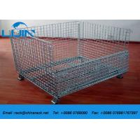 Wholesale Steel Structure Warehouse Foldable Galvanized Wire Mesh Cages for Storage from china suppliers
