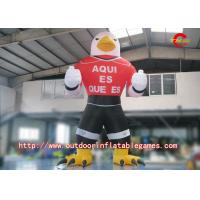 Wholesale Oxford Gant Inflatable Cartoon Characters , Inflatable Eagle Cartoon For Advertising from china suppliers