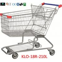 Wholesale 210 Litre Grocery Shopping Trolley With Zinc Or E - Coating With Color Powder Coating from china suppliers