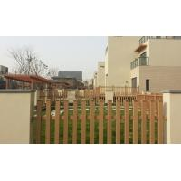 Wholesale Outdoor Composite Privacy Fence Panels And Grid For Courtyard / Garage from china suppliers