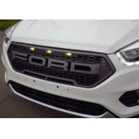 Wholesale 2017 New Ford Kuga Escape Modified Spare Parts Front Grilles With LED Light from china suppliers
