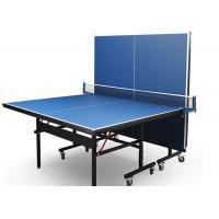 Quality Indoor Professional MDF Foldable and Movable Table Tennis Table with Wheel Easy for sale