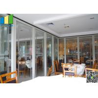 Wholesale Sliding Aluminum Glass Partitions Wall from china suppliers