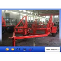 Wholesale 12 Ton Capacity Underground Cable Installation Tools With Hand Brake from china suppliers