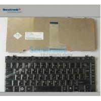 China Glossy Black Laptop Keyboard Replacement , New Keyboard For Toshiba Satellite Laptop on sale