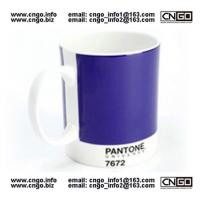 Wholesale GIFTS PANTONE colors mug to your LOVER NO.7672 MUG CHINA from china suppliers
