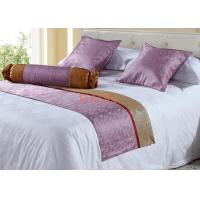 Wholesale Jacquard  Hotel Bed Runners 150 x50 cm , Bed Throws And Runners from china suppliers