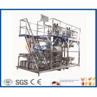 Wholesale 3000 - 20000LPH Full Automatic Beverage Production Line With CIP System / PLC Control from china suppliers