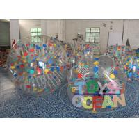 Wholesale Promotional Giant Inflatable Hamster Ball Color / Clear Inflatable Ball CE from china suppliers