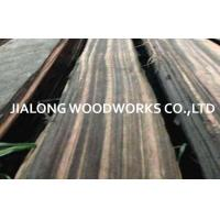 Wholesale Macassar Ebony Quarter Cut Natural Black Sliced Cut For Bureau And Desk from china suppliers