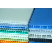 Quality High Strength Light Weight Polypropylene Hollow Sheet Correx Board For Industrial / Packing for sale