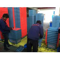 Wholesale 50kgs Security Storage Moving Plastic Crates With Hinged Lids from china suppliers