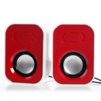 Wholesale USB 2.0 Stereo Desktop Computer Speakers , Mini Active Space - Saving Speakers from china suppliers