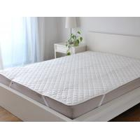 Wholesale Fabric Quilting Mattress Cover Protectors With Four Corner Anchor Straps from china suppliers