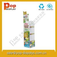 Wholesale Custom Corrugated Cardboard Display Stands For Food Promotion from china suppliers
