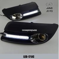 Wholesale JAC J6 RS DRL LED Daytime driving Lights autobody part upgrade for sale from china suppliers
