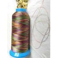 Wholesale High strength quilting thread rainbow color polyester 150D/3(size 30) from china suppliers