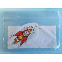 Quality Multi Color PE Custom Printed Ziplock Bags Resealable For Grocery Packing for sale