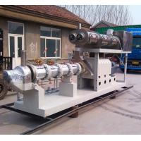Wholesale Free formula and installation 3500-5000kgs/h steam type double screw extruder pet food pellet machine from china suppliers