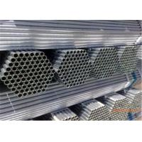 Wholesale Fluid Transport Galvanised Steel Tube , OD 21-340mm Black Galvanised Pipe from china suppliers