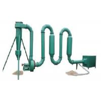 Wholesale Reliable Small Pipe Hot Air Flow Dryer For Rice Hull , Wood Sawdust from china suppliers