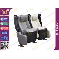 Wholesale Durable Micro Fiber Leather Folding Theater Seats Home Theater Recliner Seats from china suppliers