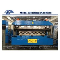 Wholesale YX45-150-900 Roof Deck Roll Forming Machine with Double 11KW Motor Driven from china suppliers