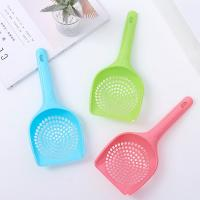 Wholesale Wholesale pet grooming tool colorful PP plastic cat litter scoop from china suppliers