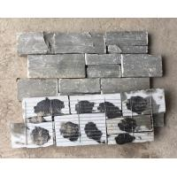 Buy cheap Grey Slate Zclad Stacked Stone Backed Steel Wire,Riven Slate Stone Cladding,Outdoor Stone Wall Panels,Natural Stone Vene from wholesalers