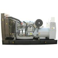 Quality Low Emission 150 kva Fuel Tank Generator IP23 Protection Grade For School for sale