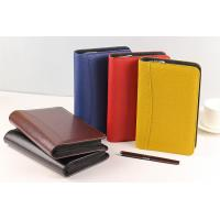 Buy cheap Custom Pu Leather Organizer,Promotion A4 Leather File Folder,Genuine Leather Portfolio from wholesalers