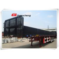 Wholesale 50 ton loading capacity sidewall cargo trailer enclosed truck semi trailer from china suppliers